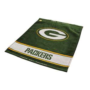 Green Bay Packers  Jacquard Woven Golf Towel