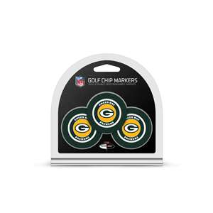 Green Bay Packers Golf 3 Pack Golf Chip 31088