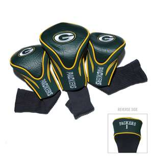 Green Bay Packers Golf 3 Pack Contour Headcover 31094
