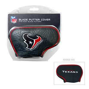 Houston Texans Golf Blade Putter Cover