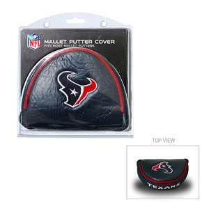 Houston Texans Golf Mallet Putter Cover