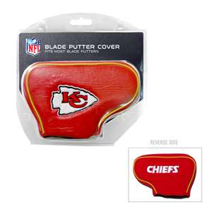 Kansas City Chiefs Golf Blade Putter Cover