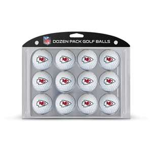 Kansas City Chiefs Golf Dozen Ball Pack