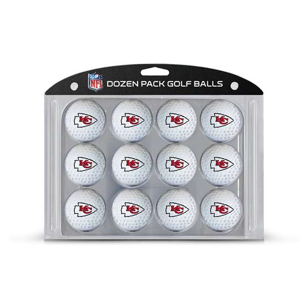 Kansas City Chiefs Golf Dozen Ball Pack 31403
