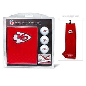 Kansas City Chiefs Golf Embroidered Towel Gift Set 31420