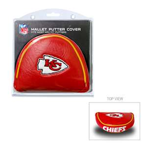 Kansas City Chiefs Golf Mallet Putter Cover
