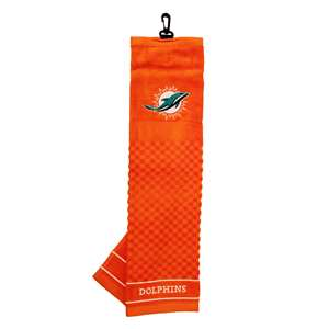Miami Dolphins Golf Embroidered Towel