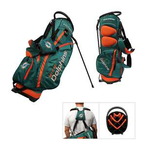 Miami Dolphins Golf Fairway Stand Bag