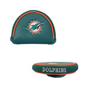 MIAMI DOLPHINS Golf Club Mallet Putter Headcover