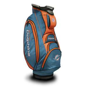 Miami Dolphins Golf Victory Cart Bag