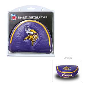 Minnesota Vikings Golf Mallet Putter Cover