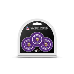 Minnesota Vikings Golf 3 Pack Golf Chip