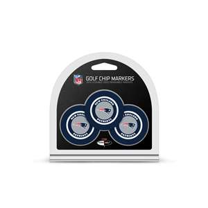 New England Patriots Golf 3 Pack Golf Chip