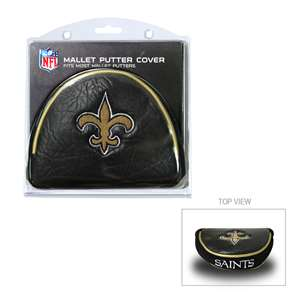 New Orleans Saints Golf Mallet Putter Cover