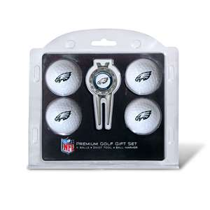 Philadelphia Eagles Golf 4 Ball Gift Set