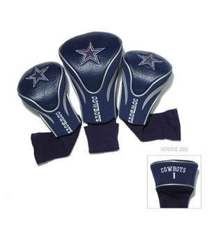 Dallas Cowboys Golf 3 Pack Contour Headcover 32394