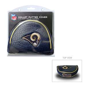 Los Angeles Rams Golf Mallet Putter Cover