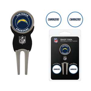 Los Angeles Chargers Golf Signature Divot Tool Pack  32645