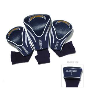 Los Angeles Chargers Golf 3 Pack Contour Headcover 32694