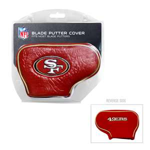 San Francisco 49ers Golf Blade Putter Cover