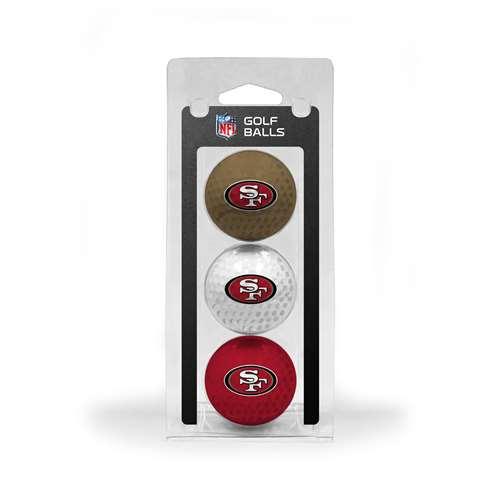San Francisco 49ers Golf 3 Ball Pack 32705