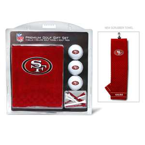 San Francisco 49ers Golf Embroidered Towel Gift Set 32720
