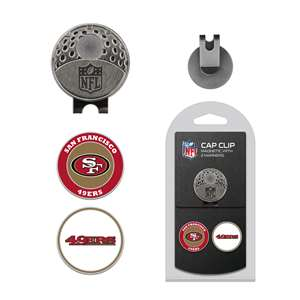 San Francisco 49ers Golf Cap Clip Pack 32747