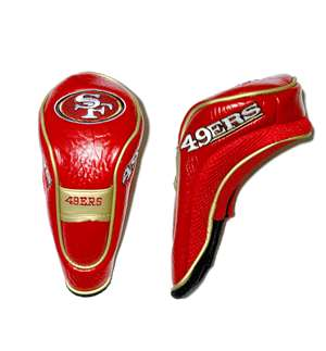 San Francisco 49ers Golf Hybrid Headcover