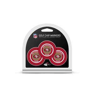 San Francisco 49ers Golf 3 Pack Golf Chip 32788