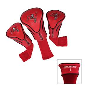 TAMPA BAY BUCCANEERS Golf Club Headcover Contour 3 Pack