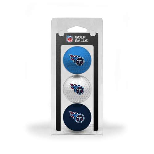 Tennessee Titans Golf 3 Ball Pack 33005