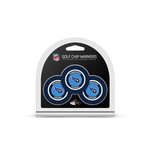 Tennessee Titans Golf 3 Pack Golf Chip