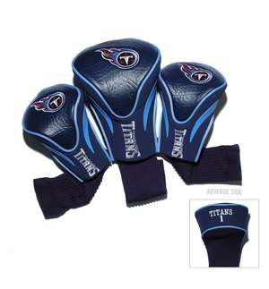 Tennessee Titans Golf 3 Pack Contour Headcover