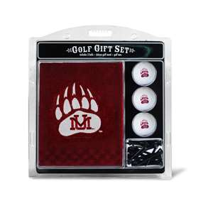 University of Montana Grizzlies Golf Embroidered Towel Gift Set 40420