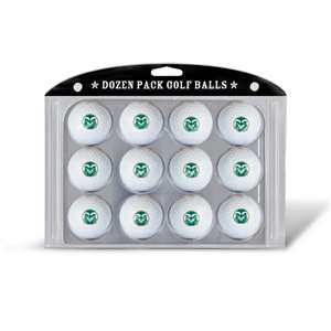 Colorado State University Rams Golf Dozen Ball Pack