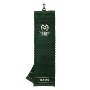 Colorado State University Rams Golf Embroidered Towel