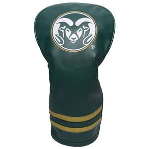 Colorado State University Rams Golf Vintage Driver Headcover