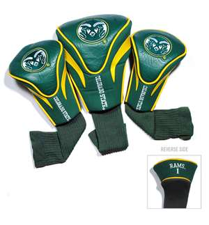 Colorado State University Rams Golf 3 Pack Contour Headcover