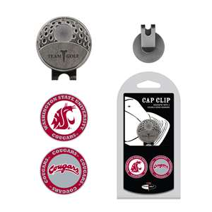Washington State University Cougars Golf Cap Clip Pack 46247