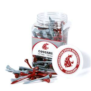 Washington State University Cougars Golf 175 Tee Jar