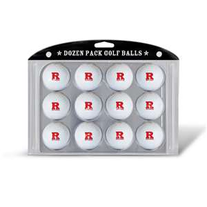 Rutgers University Scarlet Knights Golf Dozen Ball Pack 46803