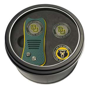 Baylor University Bears Golf Tin Set - Switchblade, 2 Markers 46959