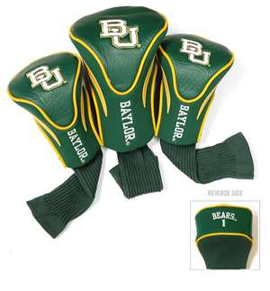 Baylor University Bears Golf 3 Pack Contour Headcover 46994