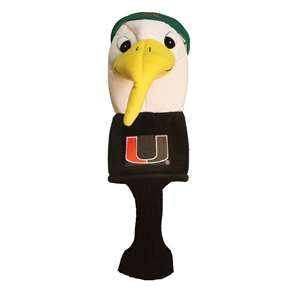 University of Miami Hurricanes Golf Mascot Headcover