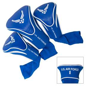 United States Air Force Golf 3 Pack Contour Headcover