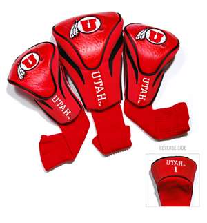 University of Utah Utes Golf 3 Pack Contour Headcover 80594