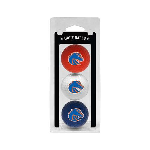Boise State University Broncos Golf 3 Ball Pack 82705