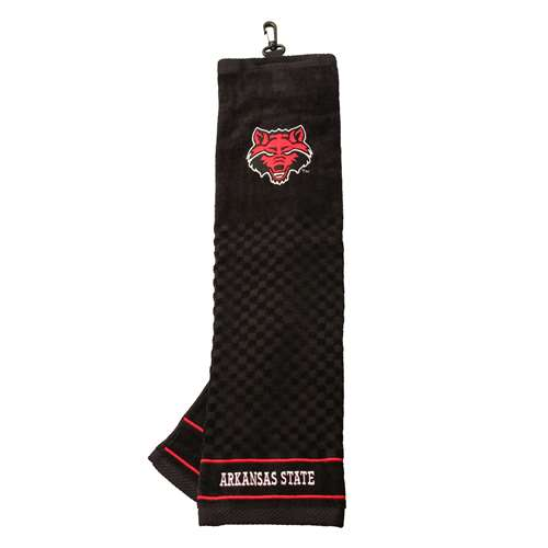 Arkansas State University Golf Embroidered Towel