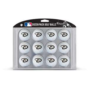 Arizona Diamondbacks Golf Dozen Ball Pack