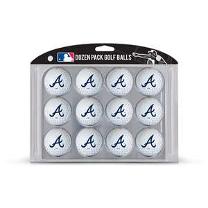 Atlanta Braves Golf Dozen Ball Pack 95103